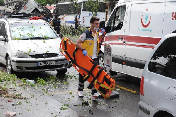 İstanbulda partlayış baş verdi