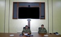 Generallar cebhe bölgesinde toplanıb